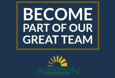 CAREERS AT THE CITY OF ANDERSON